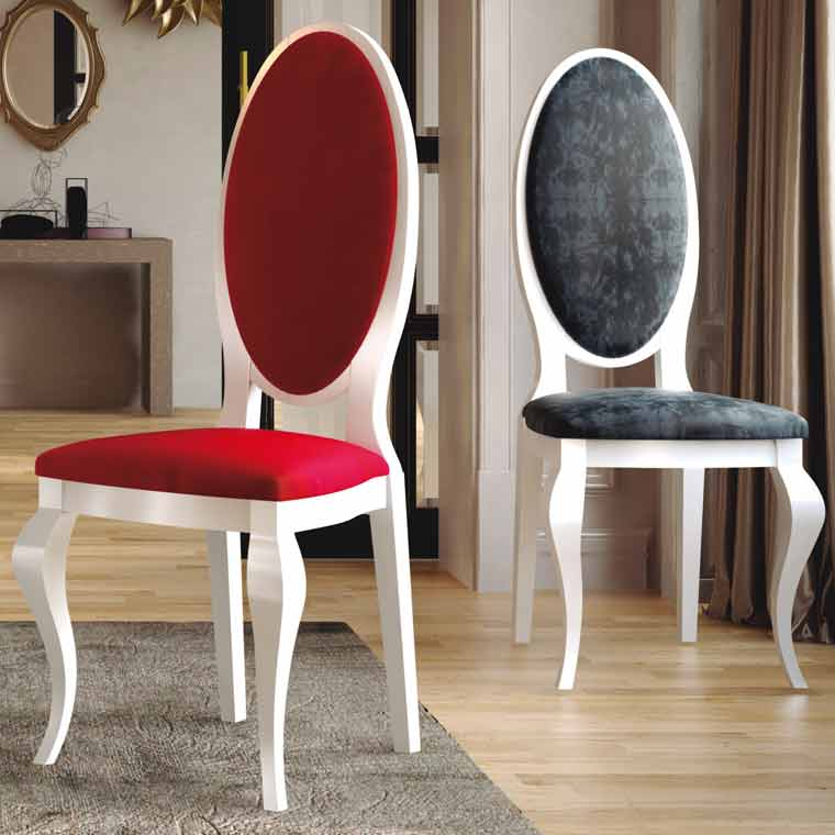 Silla londres for Sillas salon modernas