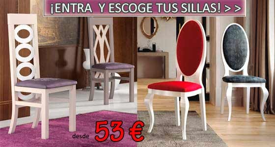 Sillas para comedor clasicas for Sillas modernas chile