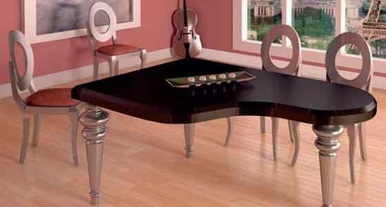 Los conjuntos de mesas y sillas para el comedor son el eje central del corazón de la casa y marcan en buena medida el estilo decorativo del hogar, ofreciendo mil maneras de disfrutar de la familia y amigos.