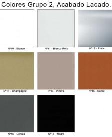 Colores Lacados de Sillas y Mesas