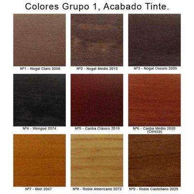Colores Tinte de Sillas y Mesas