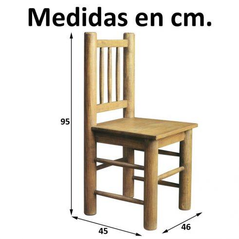 Medidas Silla Campera
