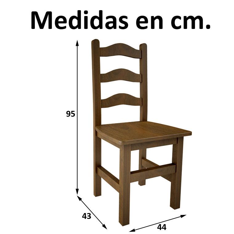 Lote de 15 mesas de bar 60 sillas 3 cerchas - Medidas silla ...