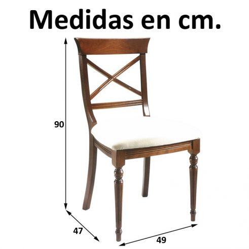 Medidas Silla Coruña