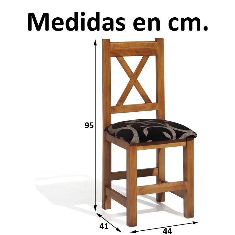 Lote de 5 mesas de bar 20 sillas cruz for Sillas para ninos medidas