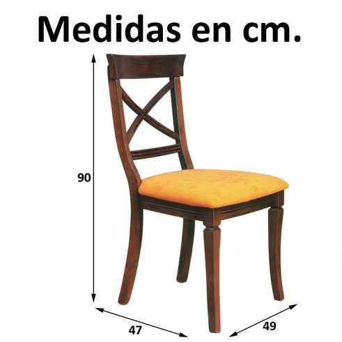 Medidas Silla Jaén