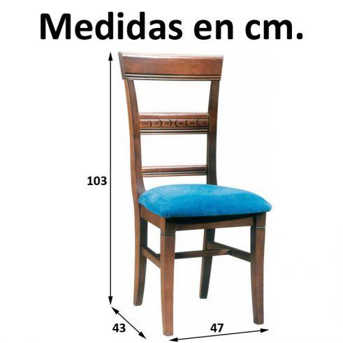 Medidas Silla Lucena
