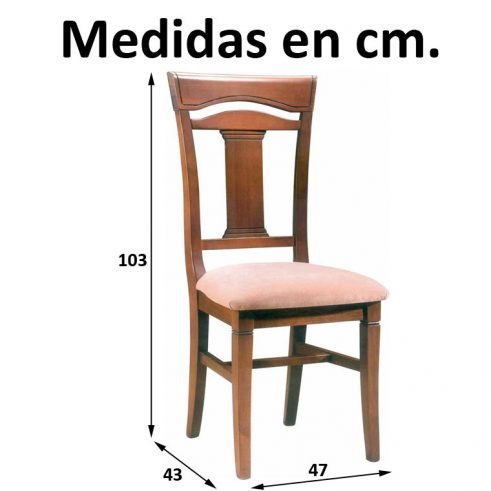 Medidas Silla Victoria