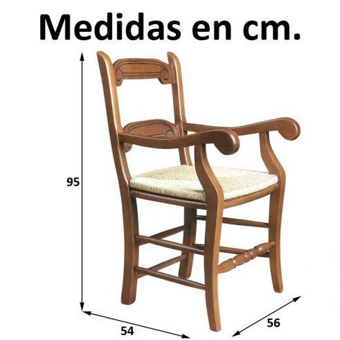 Medidas Sillón Caracola