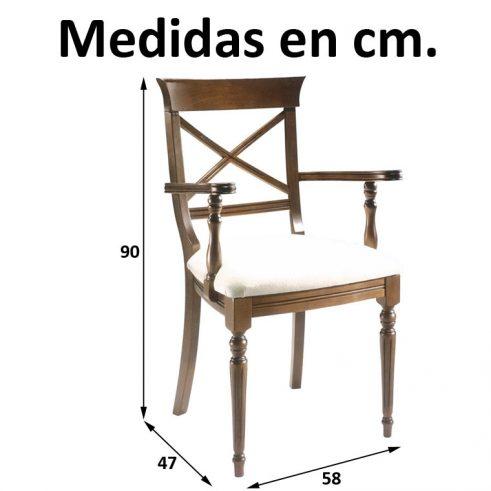 Medidas Sillón Coruña