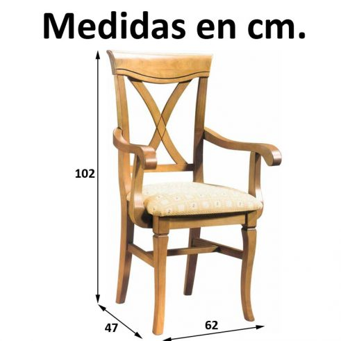 Medidas Sillón Valencia