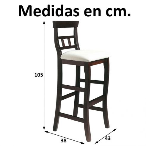 Medidas Taburete Málaga
