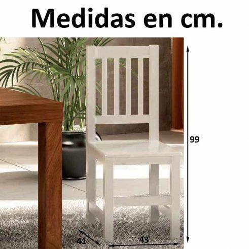 Medidas Silla Eco V
