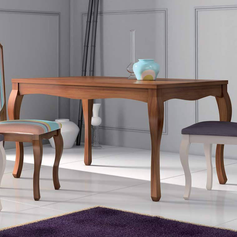 Mesa comedor extensible pera for Muebles isabelinos online