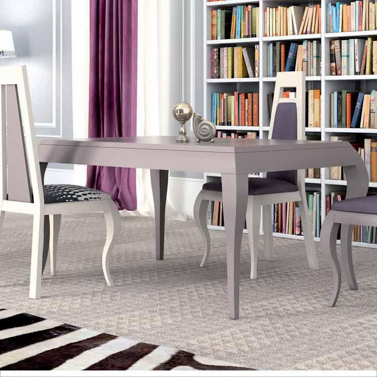 Mesa comedor extensible versalles - Mesa salon extensible ...