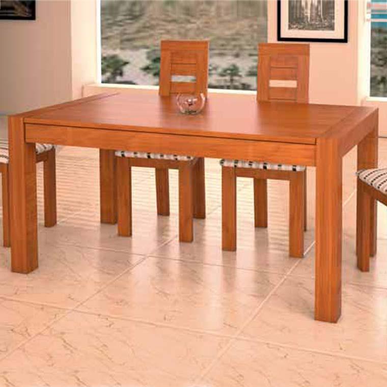 Mesa comedor viena 4 sillas diva for Mesas de comedor coloniales