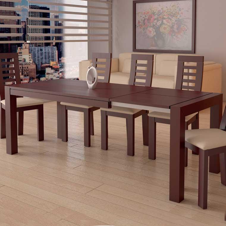 Mesa comedor lucena fija o extensible - Muebles lucena cordoba ...