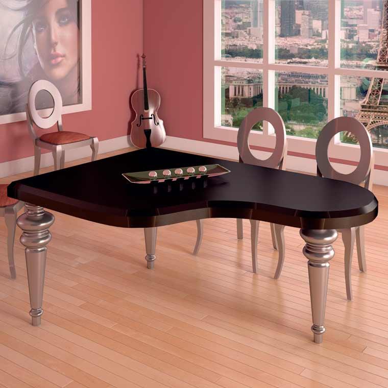 Mesa Salón Comedor Piano