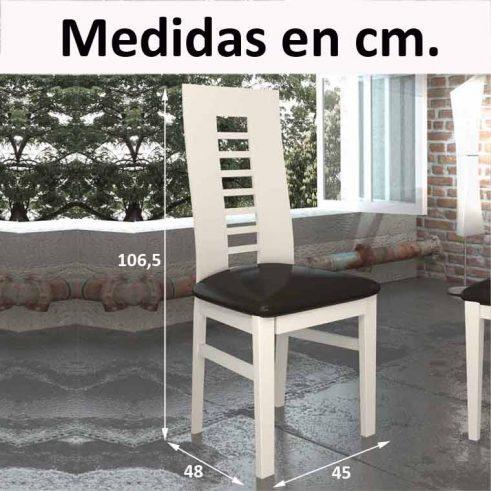 Medidas Silla Cádiz II