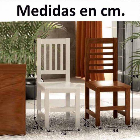 Medidas Silla Eco H