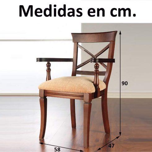 Medidas Sillón Jaén