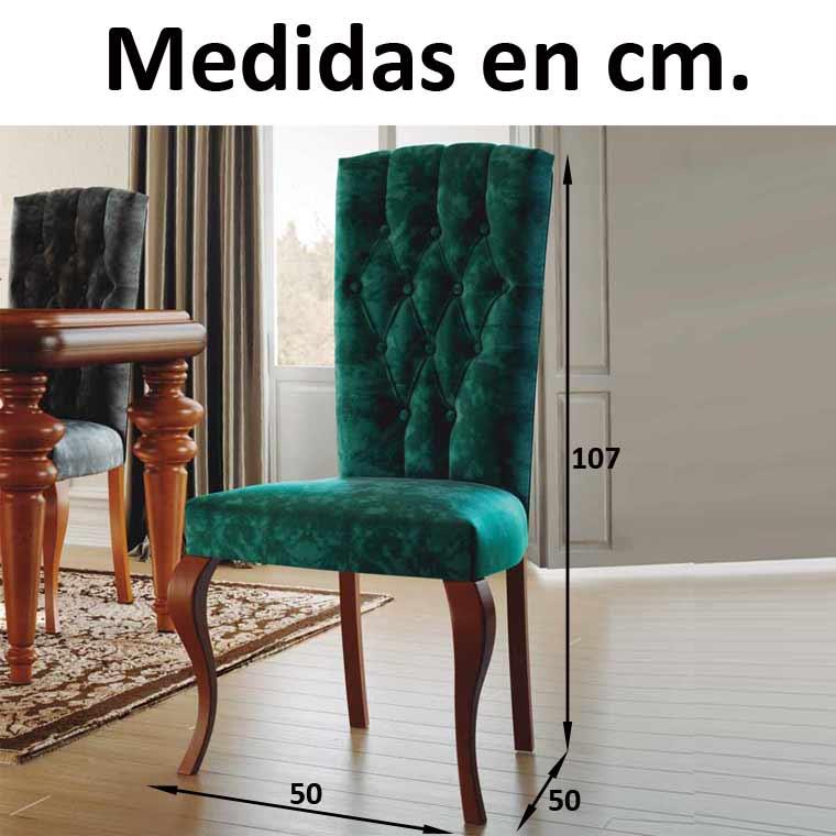 Silla canad capiton - Medidas silla ...
