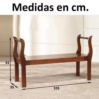 Medidas Marquesita de 100 cm.