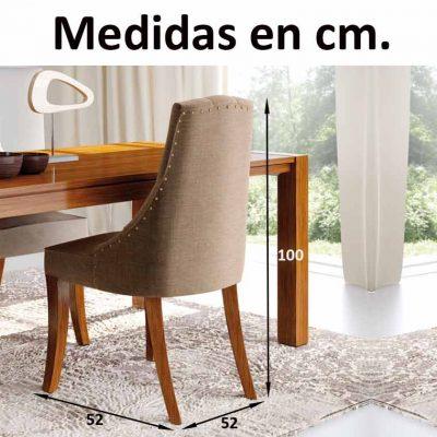 Medidas Silla Mónaco