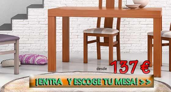 El tamaño de la mesa de comedor dependerá del espacio del que dispongamos. Las mesas cuadradas son recomendables para salones pequeños, en los que también pueden servir como mesas auxiliares en una esquina.