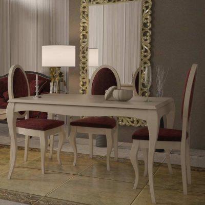 Mesa de Comedor Isabeliana Versalles