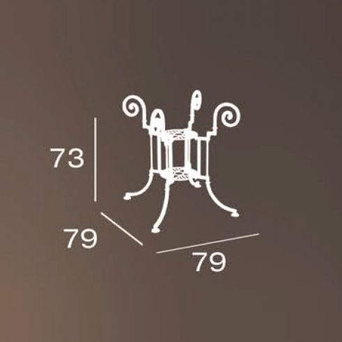 medidas pie mesa teide