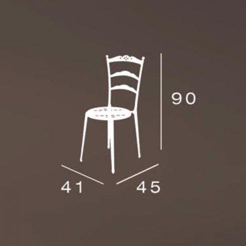 medidas silla triana