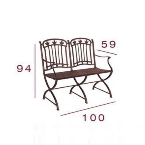 medidas sillon de 2 plazas malaga
