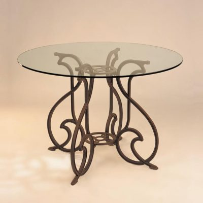 mesa pie gaudi cristal