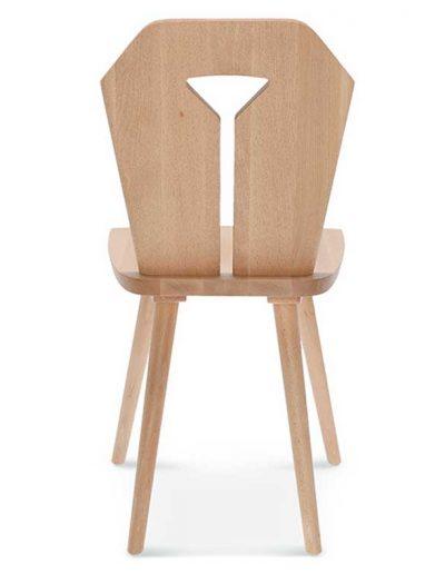 Medidas Silla madera de alerce Cortina, Espalda, para hostelería