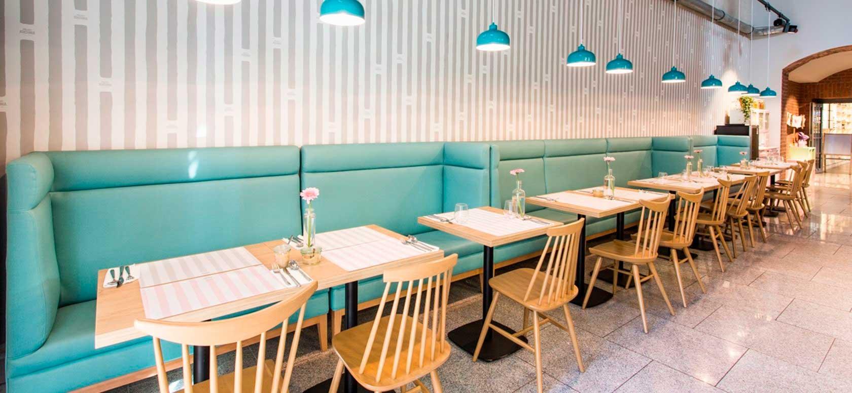 Mobiliario hostelería Baleares. Mesas para Cafetería