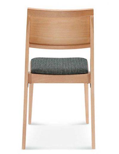 Medidas Silla madera de haya Clase, Espalda, para hostelería