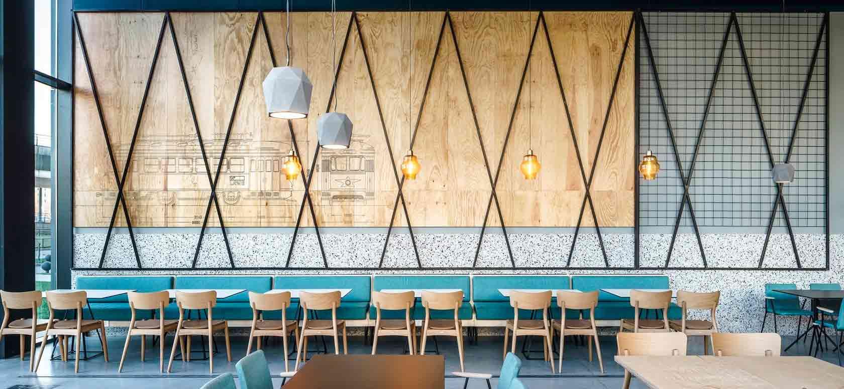 Trabajo realizado con Sillas madera de haya Malibú. Para hostelería, ambiente 1