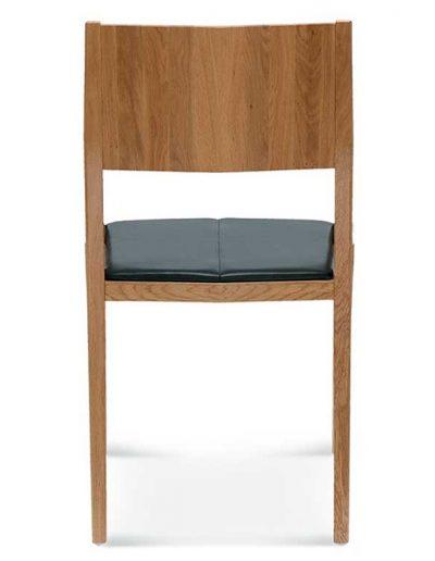 Silla madera de haya o roble Arcos, Espalda, para hostelería
