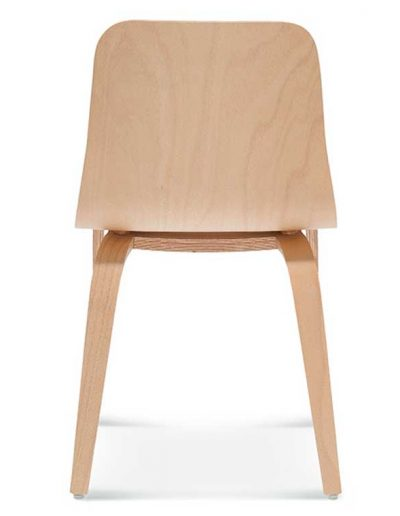 Silla madera de haya Hips 3, Espalda, para hostelería