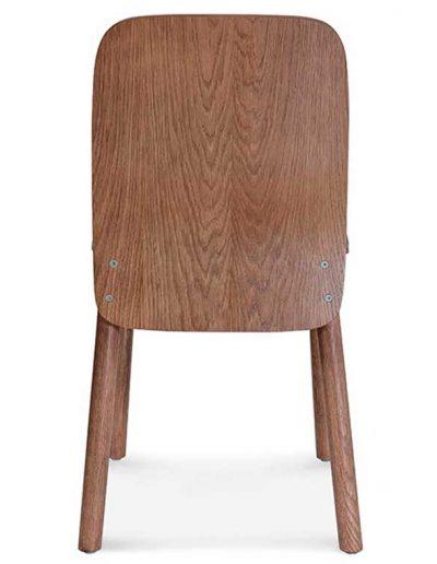 Silla madera de haya o roble Nod 1, Espalda, para hostelería