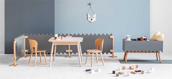 Muebles para niños,  hostelería