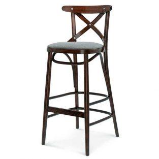 Taburete de bar en madera de haya 8810.2. Para hostelería