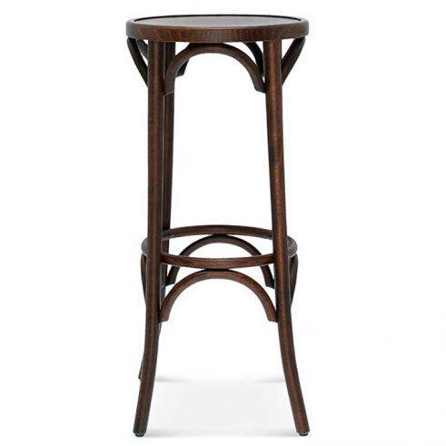 Taburete de bar en madera de haya 9739.2, Perfl, para hostelería