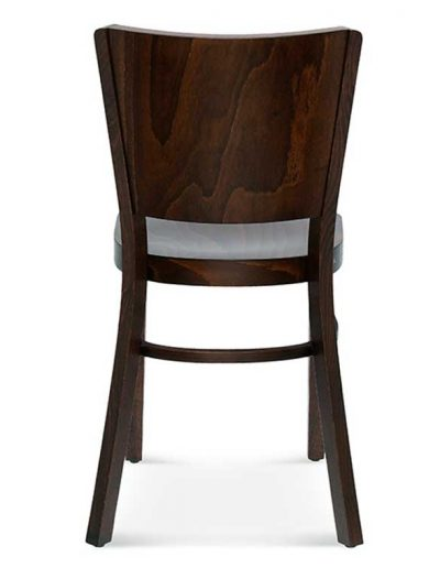 Silla madera de haya Tulip 3, Trasera, para hostelería