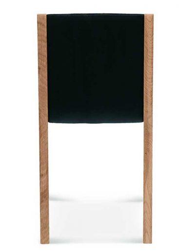 Silla madera de haya o roble Teba, Trasera, para hostelería