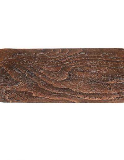 Sofá 2 plazas 6653, Detalle de la madera