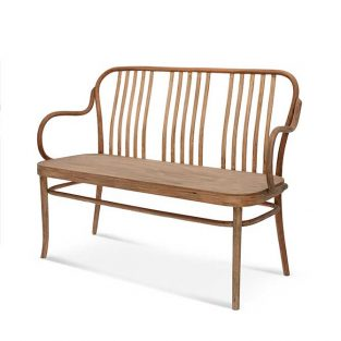 Sofá madera de haya 6653L. Para hostelería