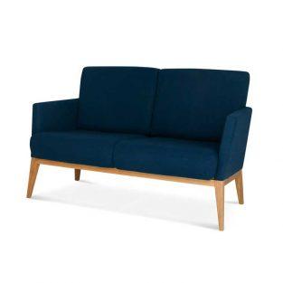 Sofá madera de haya o roble Montana. Para hostelería
