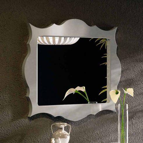Espejo Celta 2 patas torneadas